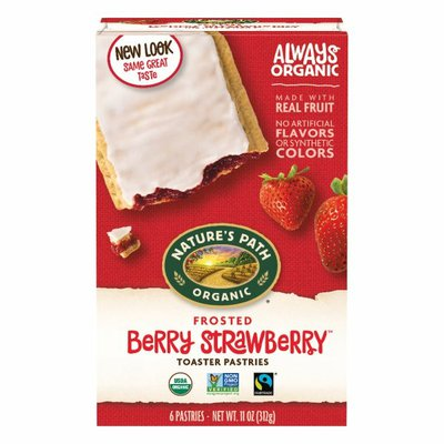 Nature's Path Berry Strawberry Frosted Toaster Pastries