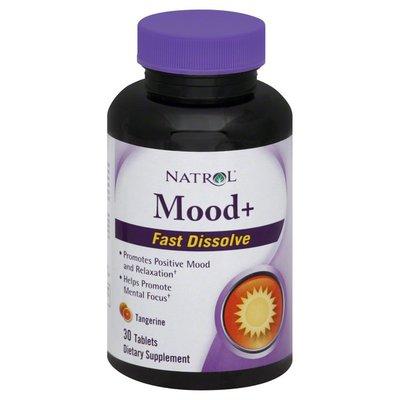 Natrol Mood+, Fast Dissolve, Tablets, Tangerine