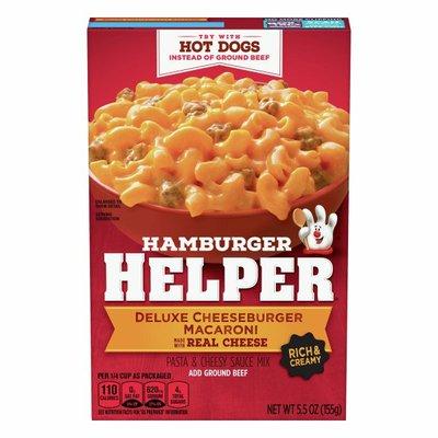 Hamburger Helper Double Cheeseburger Macaroni