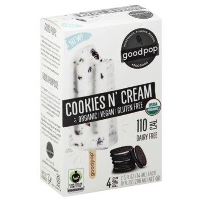 GoodPop Pops, Cookies N' Cream