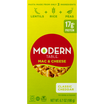 Modern Table Meals Mac & Cheese Classic Cheddar