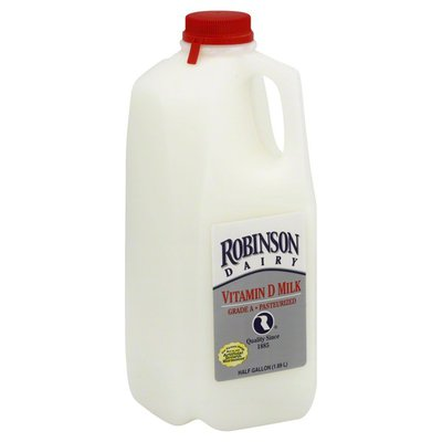Robinson Farm Milk, Vitamin D