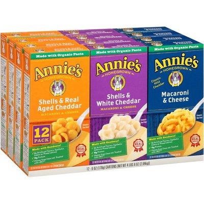 Annie's Macaroni & Cheese Variety Pack Macaroni & Cheese