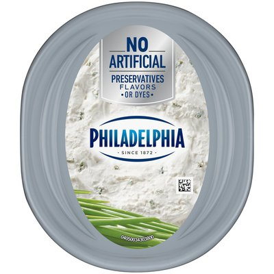 Philadelphia Chive Whipped Cream Cheese Spread