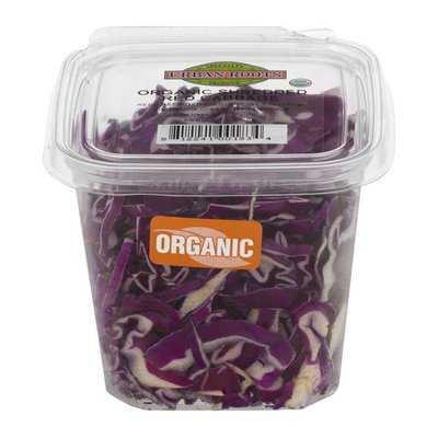 Urban Roots Organic Shredded Red Cabbage