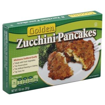 Golden. Zucchini Pancakes