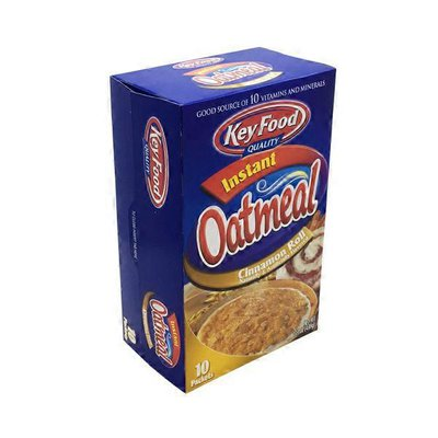 Key Food Instant Oatmeal, Cinnamon Roll