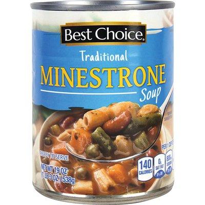 Best Choice Ready to Serve Minestrone Soup