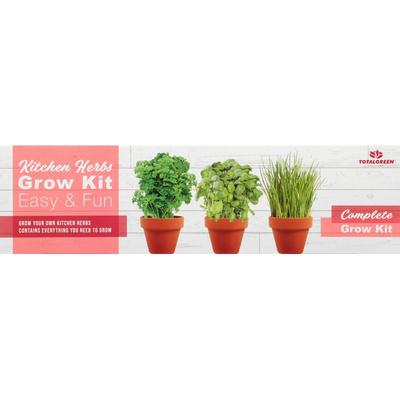 TotalGreen Grow Kit, Kitchen Herbs