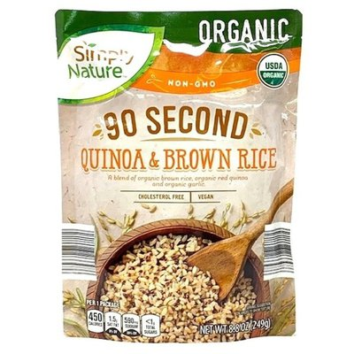 Simply Nature Organic Quinoa & Brown Rice