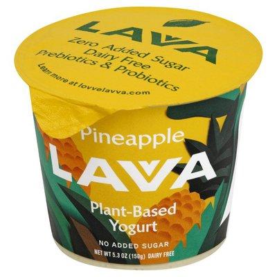 Lavva Yogurt, Plant-Based, Dairy Free, Pineapple