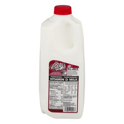 Ritchey's Milk, Vitamin D