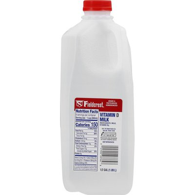 Fieldcrest Milk, Vitamin D