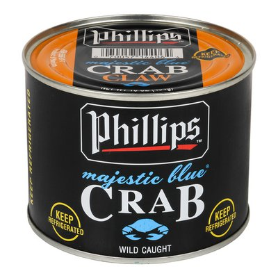 Majestic Blue Claw Crab