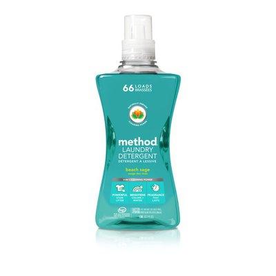 Method Laundry Detergent, Beach Sage, 66 Loads