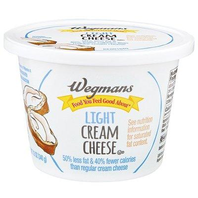 Wegmans Food You Feel Good About Light Cream Cheese