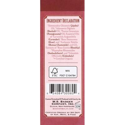 Badger Face Oil, Damascus Rose, Antioxidant
