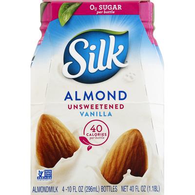 Silk Almondmilk, Unsweetened, Vanilla