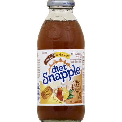 Snapple Half 'n Half Diet Lemonade Iced Tea