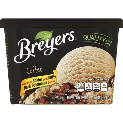 Breyers Frozen Dairy Dessert Coffee