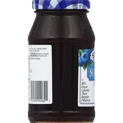Smucker's Preserves, Blueberry, Sugar Free