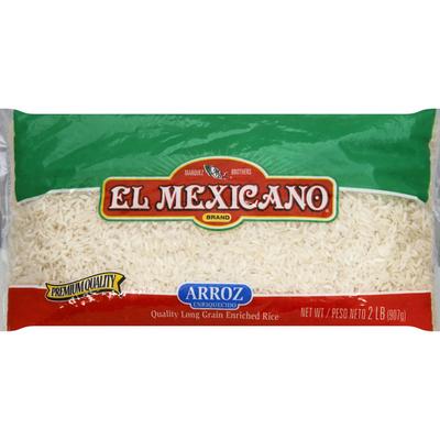 El Mexicano Rice, Enriched, Long Grain
