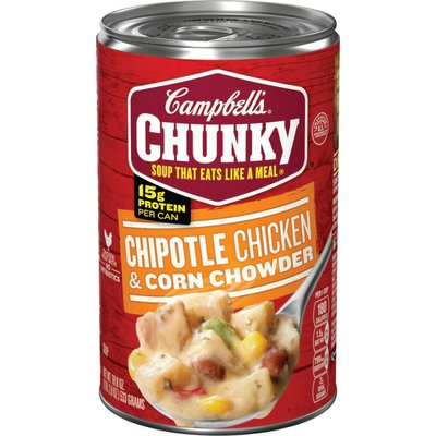 Campbell's® Chunky® Chipotle Chicken & Corn Chowder