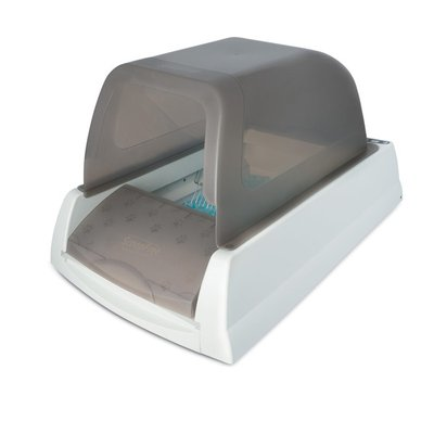 PetSafe Taupe Auto Scoop Free Ultra Self Cleaning Litter Box