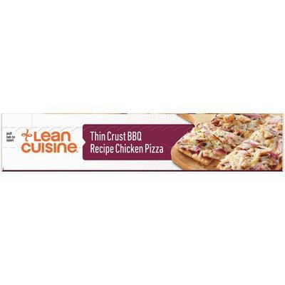 Lean Cuisine Features Thin Crust BBQ Recipe Chicken Frozen Pizza
