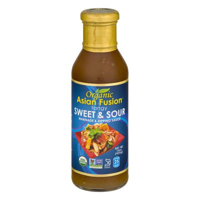 Asian Fusion Marinade & Dipping Sauce, Tart & Tangy Sweet & Sour