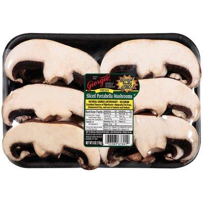 Giorgio Fresh Sliced Portabella Mushrooms