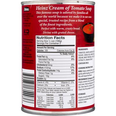 Heinz Soup, Cream of Tomato