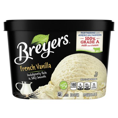 Breyers Ice Cream French Vanilla