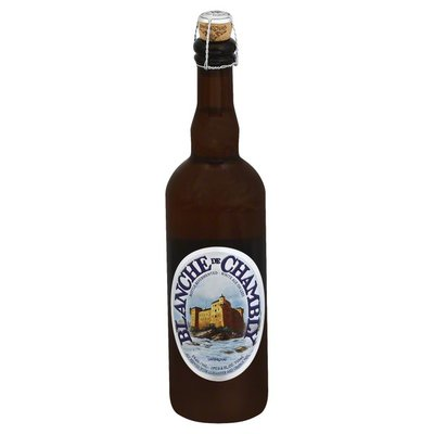 Unibroue Ale, White, on Lees, Blanche de Chambly