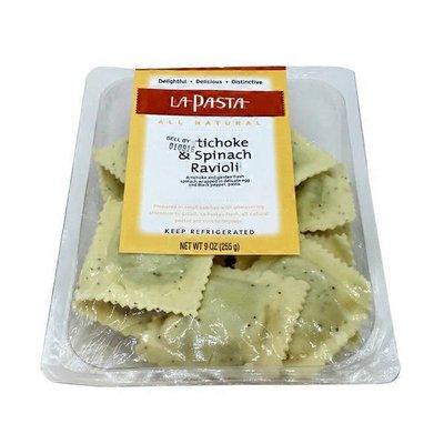 La Pasta Spinach & Artichoke Ravioli