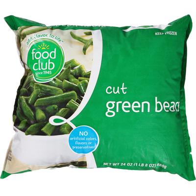 Food Club Green Beans, Cut