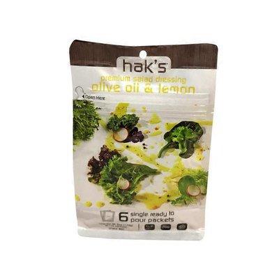 Hak's Premium Salad Dressing Olive Oil & Lemon