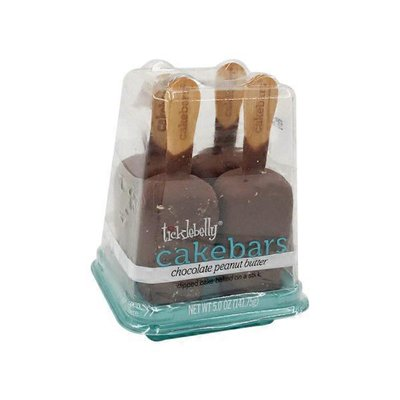 Ticklebelly Chocolate Peanut Butter Cakebars
