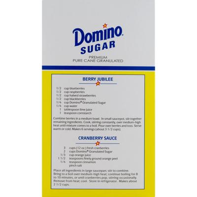 Domino Premium Sugar Cane Granulated Sugar