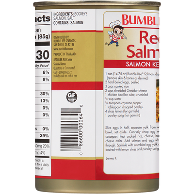 Bumble Bee Wild Red Salmon