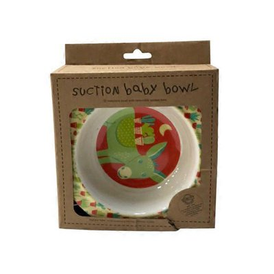 Sugarbooger Baby Otter Suction-Anchored Divided Baby Bowl
