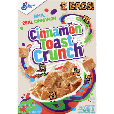 Chocolate Toast Crunch Breakfast Cereal with Whole Grain