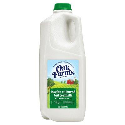 Oak Farms Buttermilk 1% Lowfat Cultured