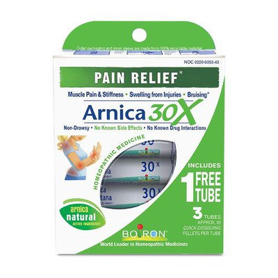 Boiron Arnica Montana 30X, Homeopathic Medicine for Pain Relief