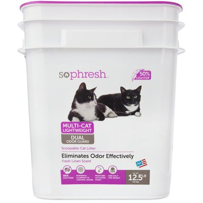 Sophresh Multi-Cat Lightweight Cat Litter