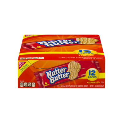 Nutter Butter Peanut Butter Single Serve 1.9 Z