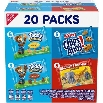RITZ Variety Pack Fun Shapes! Cookies & Crackers, 5 Varieties