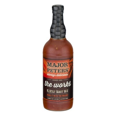 Major Peters' The Works Bloody Mary Mix