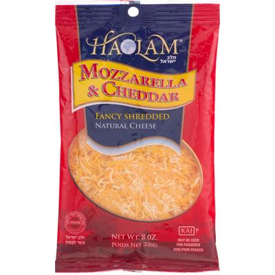 Haolam Mozzarella & Cheddar Cheese Fancy Shredded