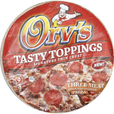 Orvs Pizza, Three Meat, 12 Inch